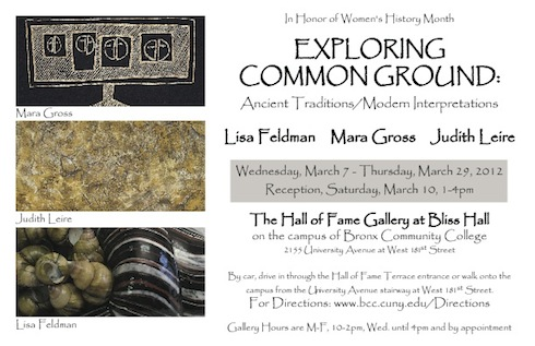 Exploring Common Ground Group Show